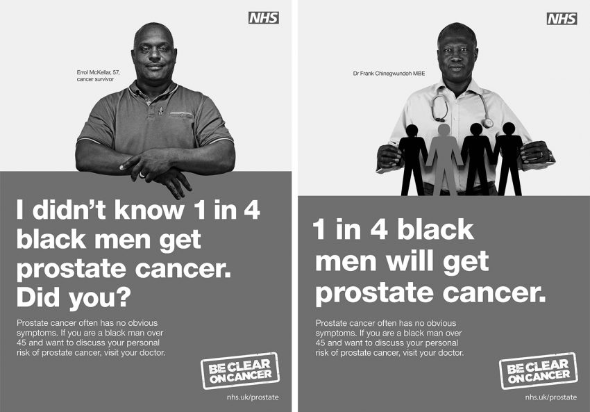 Be Clear on Cancer – Prostate Cancer campaign, Multicultural Marketing Consultancy
