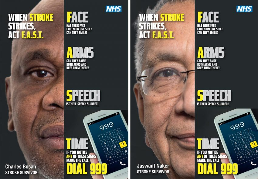 Stroke Act F.A.S.T. campaign, Multicultural Marketing Consultancy